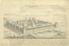 Fischer von Erlach, J. B.. Palace of Diocletian, Split, Croatia (before 1712). NSK Digital Collections.