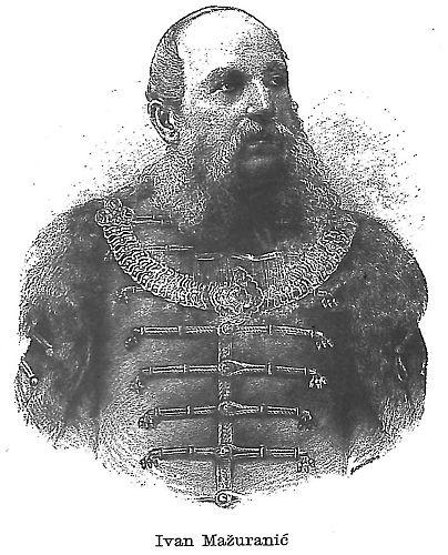 Mažuranić, Ivan (11. kolovoza 1814. – 4. kolovoza 1890.).