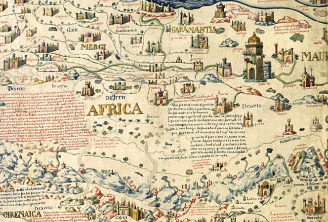Anniversary of the death of marco polo and fra mauro world map fra mauro world map probably the first modern map of the world gumiabroncs Gallery