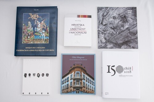 """Best designed Croatian books published in 2018 selected for """"Best Book Design from all over the World"""" competition and """"Book Art International"""" exhibition"""