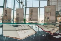 """Book Art in Croatia"" exhibition presenting Croatia's presidency of the Council of the European Union. National and University Library in Zagreb, 8 – 31 January 2020."