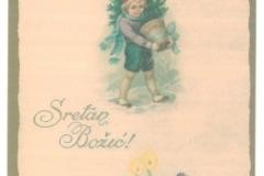 Božićna čestitka iz fonda Grafičke zbirke NSK.