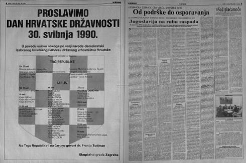 Vjesnik – 29. svibnja 1990.