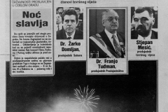 Večernji list, zagrebačko izdanje – 31. svibnja 1990.