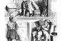 Čitanje nekada. Iz Child-Land, Oscar Pletsch and M. Richter. Digitalizirano u sklopu digitalne knjižnice Project Gutenberg. Izvor: http://ebookfriendly.com/.