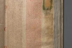 """Codex Gigas"". Fotografija reproducirana s dozvolom Nacionalne knjižnice Švedske."
