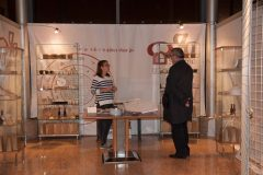 "The opening of the ""Croatian Glagolitic Heritage"" exhibition at the National and University Library in Zagreb."