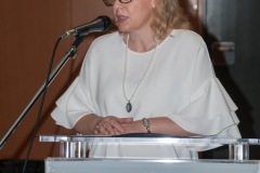 NSK Integrated Library System Adviser Dijana Machala at the signing of the Cooperation Agreement on the Development and Management of the Croatian National Union Catalogue.