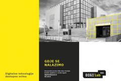 Novootvoreni prostor Digitalnoga laboratorija Nacionalne i sveučilišne knjižnice u Zagrebu.