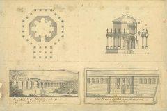Fischer von Erlach, J. B.. Jupiter u usponu – palača u Splitu. Iz Digitalne zbirke NSK.
