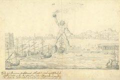 Fischer von Erlach, J. B.. Kolos s otoka Roda. Iz Digitalne zbirke NSK.