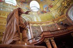 Djelatnici Nacionalne i sveučilišne knjižnice u Zagrebu posjetili Nacionalnu knjižnicu Austrije. Autor fotografije: Robert Ravnić.