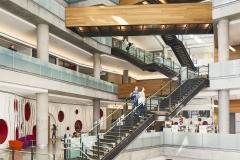 Središnja knjižnica Austin u Austinu u Texasu. Fotografija:  Nic Lehoux.