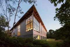 Narodna knjižnica Eastham u Easthamu u Massachusettsu. Fotografija: Chuck Choi.