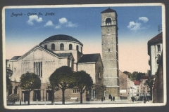 Crkva svetoga Blaža. Grafička zbirka Nacionalne i sveučilišne knjižnice u Zagrebu.