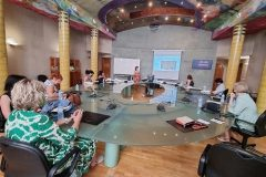 """The final meeting for the international Erasmus+ project TRACE (""""Traditional children's stories for a common future"""") held. Euro-Arab Foundation for Higher Studies (Granada, Spain), 15 & 16 July 2021."""
