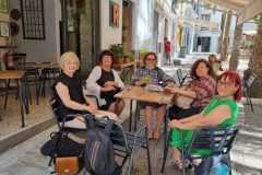 """The participants in the final meeting for the international Erasmus+ project TRACE (""""Traditional children's stories for a common future"""") hosted by the Euro-Arab Foundation for Higher Studies (Granada, Spain) on 15 & 16 July 2021."""