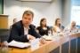 Alek Tarkowski, predstavnik udruženja COMMUNIA, na raspravi o nužnim izmjenama zakona o autorskim pravima održanoj u Europskome parlamentu 21. lipnja 2017. godine. Autor fotografije: Sebastiaan ter Burg.