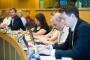 Predstavnici obrazovnoga i baštinskoga sektora, sudionici rasprave o nužnim izmjenama zakona o autorskim pravima održane u Europskome parlamentu u organizaciji udruženja COMMUNIA. Autor fotografije: Sebastiaan ter Burg.