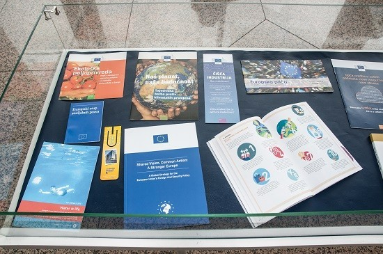 """European Union – What Does It Do for Us?"": NSK exhibition marking Europe Week 2019."