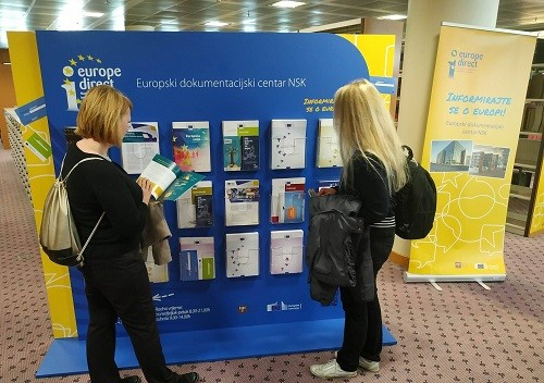 Europski dokumentacijski centar NSK – Informirajte se o europskim izborima!