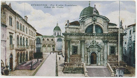 Crkva svetoga Vlaha. Grafička zbirka NSK.