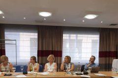 Sudionici godišnjega sastanka Konferencije ravnatelja nacionalnih knjižnica. Atena, Grčka, 27. kolovoza 2019. godine.
