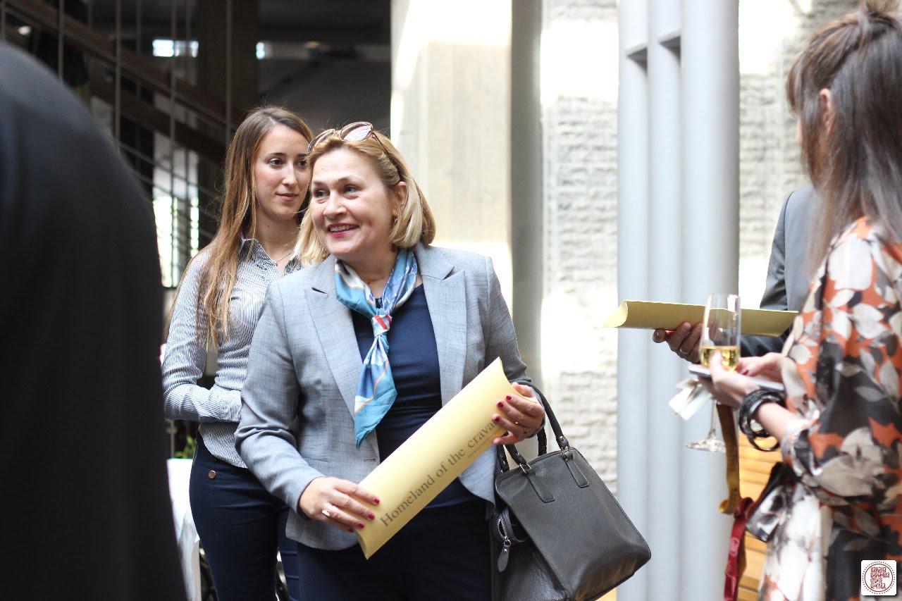 Glavna ravnateljica Nacionalne i sveučilišne knjižnice u Zagrebu dr. sc. Tatijana Petrić na Sedmoj konferenciji ravnatelja nacionalnih knjižnica Jugoistočne Europe.