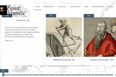 "U sklopu otvorenja izložbe ""Faust Vrančić u kontekstu europske baštine"" predstavljena je i engleska inačica virtualne izložbe NSK ""Faust Vrančić"". http://virtualna.nsk.hr/vrancic/en/"