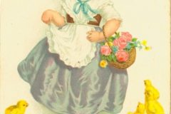 An old Easter card from the Print Collection of the National and University Library in Zagreb.
