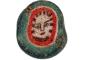 Staklena perla s prikazom Gorgone iz 1. stoljeća (Sirija/Libanon).