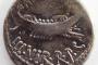 Denar Marka Antonija iz 32./31. godine prije Krista.