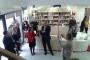 Gradonačelnik Knina Marko Jelić na otvorenju izložbe o rijeci Krki u Narodnoj knjižnici Knin.