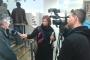 Dr. sc. Drago Marguš na otvorenju izložbe o rijeci Krki u Narodnoj knjižnici Knin.