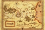 Narnia iz serije romana Narnijske kronike  C. S. Lewisa. Izvor: http://bookriot.com/2015/07/04/cool-maps-of-fictional-literary-places/