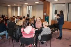 Praktične vježbe održane u sklopu programa radionice o ulozi knjižnica u provođenju UN-ove razvojne strategije Agenda 2030. Nacionalna i sveučilišna knjižnica u Zagrebu, 17. i 18. travnja 2018.