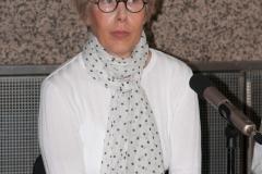 """Dr. sc. Lada Čale Feldman na otvorenju izložbe """"Krležini rukopisi""""."""