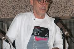 Goran Matović, utemeljitelj i ravnatelj Festivala Miroslav Krleža,  govorio je o važnosti Festivala, njegovu nastanku i povijesti.