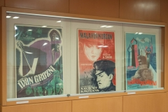 """Filmski plakati iz Grafičke zbirke – izbor iz fonda"", the latest NSK exhibition featuring a valuable selection of film posters from the Library's Print Collection."
