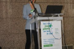 "Ivana Banović Đorđević (Embassy of the Republic of Serbia to the Republic of Croatia) at the 1st International Conference on Green Libraries ""Let's Go Green!"". National and University Library in Zagreb, 8 – 10 November 2018."
