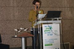 "Marijana Korotaj (Franc Ksaver Meško Library, Slovenia) at the 1st International Conference on Green Libraries ""Let's Go Green!"". National and University Library in Zagreb, 8 – 10 November 2018."
