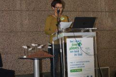 "Marijana Korotaj (Franc Ksaver Meško Library, Slovenia) at the 1st International Conference on Green Libraries ""Let's Go Green!"". National and University Library in Zagreb, 8 – 10 November 2018."