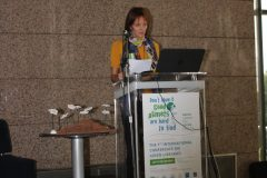 "Jasmina Bajo (Nikola Đurković Cultural Centre, Kotor City Library, Montenegro) at the 1st International Conference on Green Libraries ""Let's Go Green!"". National and University Library in Zagreb, 8 – 10 November 2018."