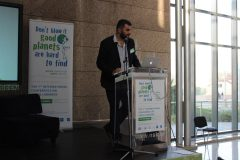 "Philippe Colomb (Françoise Sagan Library, France) at the 1st International Conference on Green Libraries ""Let's Go Green!"". National and University Library in Zagreb, 8 – 10 November 2018."