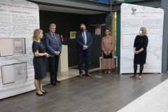 """""""Marko Marulić – A European Humanist"""" NSK exhibition put on at the Panevėžys County Gabrielė Petkevičaitė-Bitė Public Library in Lithuania, 16 September – 10 October 2020. Source: Website of the Embassy of the Republic of Croatia in the Republic of Lithuania."""