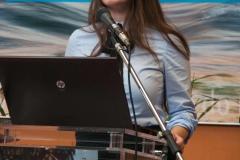 Dragana Koljenik iz Hrvatskog zavoda za knjižničarstvo Nacionalne i sveučilišne knjižnice u Zagrebu, jedna od idejnih začetnica projekta