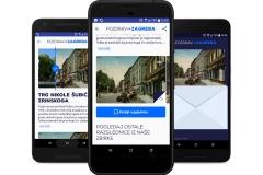 "Nacionalna i sveučilišna knjižnica u Zagrebu predstavila svoju prvu mobilnu aplikaciju ""Pozdrav iz Zagreba"""
