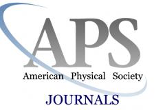 """Probni pristup zbirci časopisa """"APS Journals""""."""