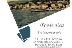 Održano 11. savjetovanje za narodne knjižnice u Republici Hrvatskoj.