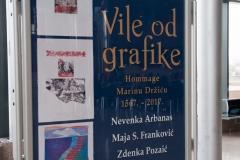 """Predstavljena grafička mapa """"Vile od grafike – Hommage Marinu Držiću 1567. – 2017.""""."""